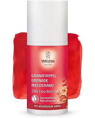 Weleda Deodorante Roll‐On 24h, Melograno - 50ml Deodoranti