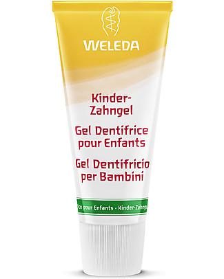 Weleda Gel Dentifricio alla Calendula per Bambini - Perfetto per i denti da latte  Massaggiagengive