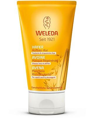 Weleda Maschera Ristrutturante all'Avena, 150 ml – Per capelli secchi e danneggiati Bagno Doccia Shampoo