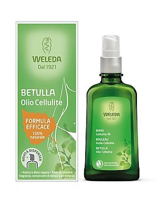 Weleda Olio Betulla, Aiuta a Combattere la Cellulite - 100% naturale Creme e Olii