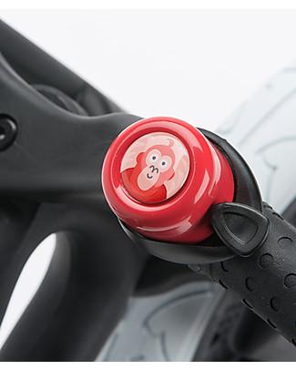 Wishbone Design Studio Campanello Universale per Bicicletta, Edizione Speciale WWF, Orangotango Biciclette