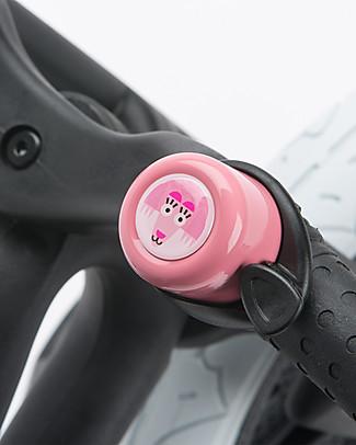 Wishbone Design Studio Campanello Universale per Bicicletta, Edizione Speciale WWF, Pangolino Asiatico Biciclette