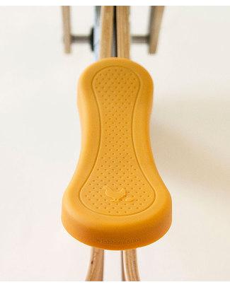 Wishbone Design Studio Coprisella per Wishbone Bike Classic e Recycled - Giallo - 100% Silicone atossico e riciclabile Burattini