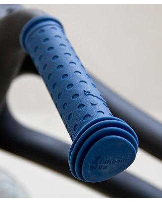 Wishbone Design Studio Manopole per Wishbone Bike Classic e Recycled - Blu - 100% Silicone (atossico e riciclabile) Biciclette