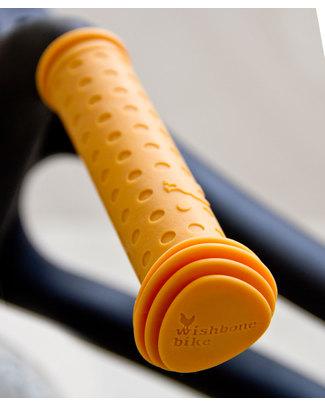 Wishbone Design Studio Manopole per Wishbone Bike Classic e Recycled - Giallo - 100% Silicone (atossico e riciclabile) Biciclette