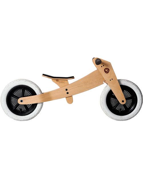 Wishbone Design Studio Wishbone Bike Classic 3 in 1 - Cresce col tuo Bimbo e Super-Sostenibile! -  Biciclette Senza Pedali