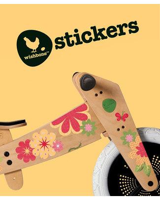 Wishbone Design Studio Wishbone Classic Sticker Flowers - Personalizza la tua Wishbone! Biciclette Senza Pedali