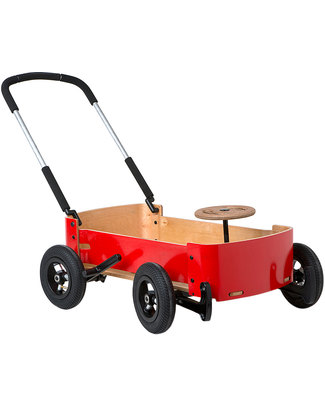Wishbone Design Studio Wishbone Wagon 3 in 1: Carretto - Carrozza, Macchinina, Kart Cavalcabili