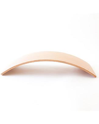 Wobbel Wobbel XL (dai 7 anni) Tavola d'Equilibrio in Legno, Smalto Trasparente - Divertimento ed esercizio per grandi e piccini Construzioni In Legno