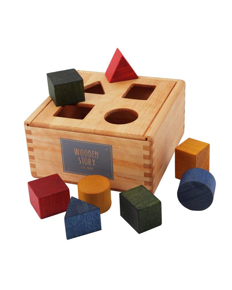 Estremamente Wooden Story Incastri Geometrici - Legno Naturale (sviluppo  SO23