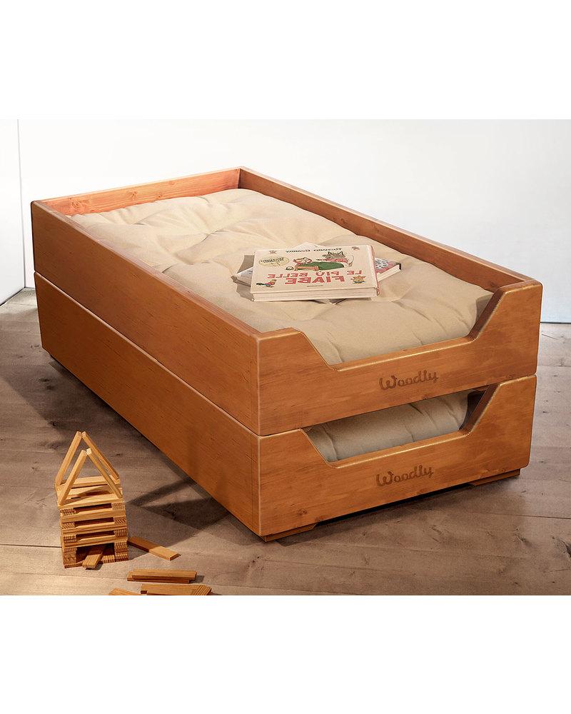 Woodly Lettino Montessori Impilabile BIG - Bianco Shabby - Made in ...