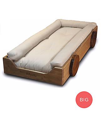 Woodly Riduttore Imbottito per Lettino Montessori BIG - 100% Puro Cotone Letti Montessoriani
