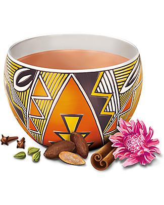 Yogi Tea Choco, Infuso Ayurvedico con Cacao, Liquirizia e Cannella, 17 bustine – Calmante Tisane