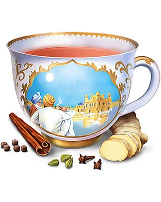Yogi Tea Classic, L'Originale Tè di Yogi Bhajan, 17 bustine –Biologico. Corposo e avvolgente Tisane
