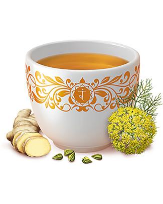 Yogi Tea Digestion, Infuso Ayurvedico con Cardamomo, Finocchio e Zenzero - 17 bustine Tisane