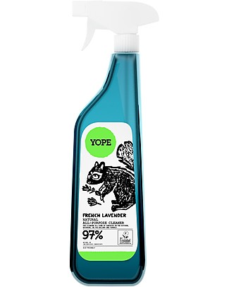 Yope Detergente Spray Multifunzione per Cucina, Bagno e Terrazza, 750 ml - Lavanda Francese  Spray