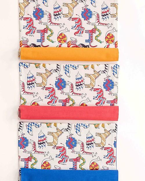 Zac 4 Kids Tovaglietta Americana Collezione Palio, Jungle con Retro Ocra - 100% cotone Set Pappa