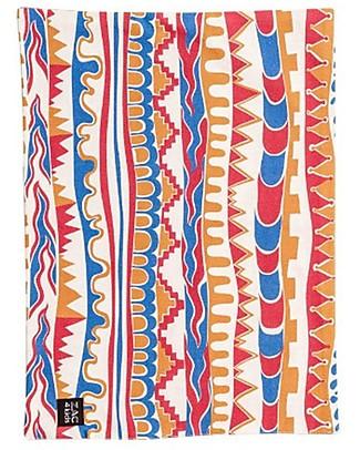 Zac 4 Kids Tovaglietta Americana, Stripes con Retro Rosso - 100% cotone Set Pappa