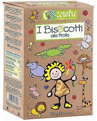 Zero Tre Biscotti alla frolla - 250gr Pappe
