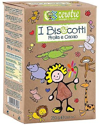 Zero Tre Biscotti alla Frolla e Cacao - 250gr Pappe