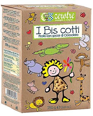 Zero Tre Biscotti Frolla e Gocce di Cioccolato - 250gr Pappe