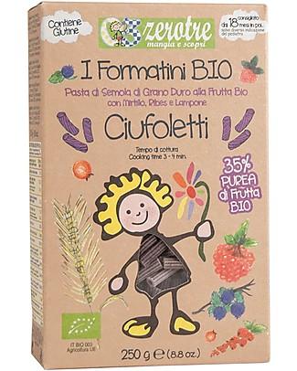 Zero Tre Ciufoletti ai Frutti Rossi, Biologico - 250gr Pappe