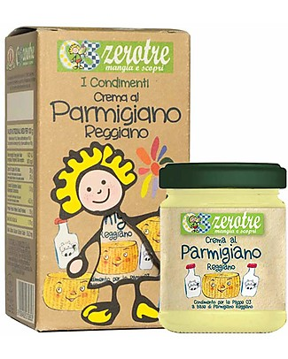 Zero Tre Crema al Parmigiano Reggiano DOP - 180gr Pappe