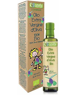 Zero Tre Olio Extravergine di Oliva, Biologico - 250ml Pappe
