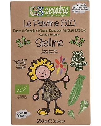 Zero Tre Stelline Bio con Purea di Spinaci e Zucchine - 250gr Pappe