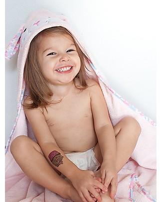 Zoocchini Asciugamano Baby con Cappuccio, Beatrice la Coniglietta - 100% cotone null
