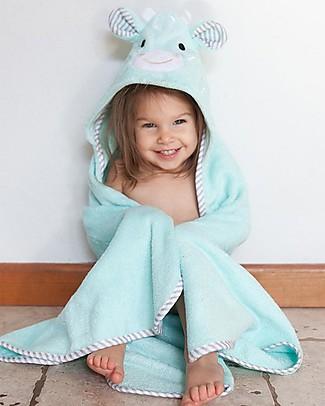 Zoocchini Asciugamano Baby con Cappuccio, Jamie la Giraffa - 100% cotone Accappatoi e Asciugamani