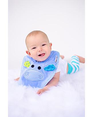 Zoocchini Bavaglino Baby, Henry l'Ippopotamo - 100% cotone null