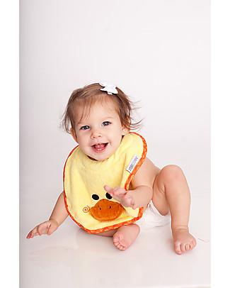 Zoocchini Bavaglino Baby, Puddles l'Anatroccolo - 100% cotone null