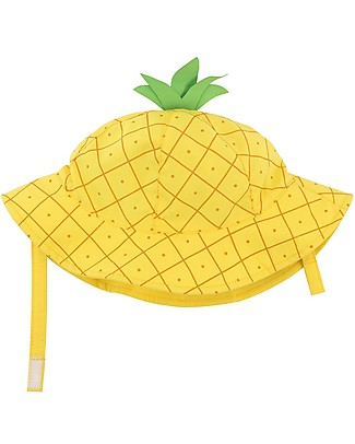 Zoocchini Cappellino Estivo UPF 50, Ananas - Diverte e protegge! Cappelli Estivi