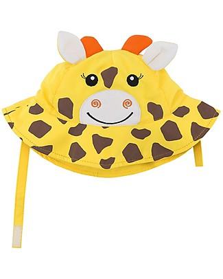 Zoocchini Cappellino Estivo UPF 50, Jaime la Giraffa - Protegge e diverte! Cappelli Estivi