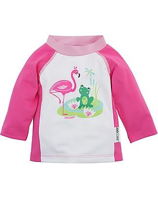 Zoocchini Magliettina Baby Proteggi Raggi Solari, Amici Lago Costumi Anti Uv