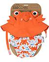 Zoocchini Set Baby Costumino Contenitivo + Cappellino, Granchio - UPF 50+ Costumi Contenitivi