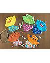 Zoocchini Set Baby Costumino Contenitivo + Cappellino, Squalo - UPF 50+ Costumi Contenitivi