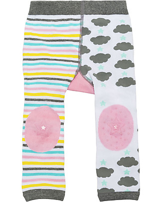 Zoocchini Set Leggings e Calzini Antiscivolo Grip+Easy - Allie Unicorno Leggings