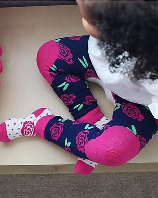 Zoocchini Set Leggings e Calzini Antiscivolo Grip+Easy - Bella il Coniglio Leggings