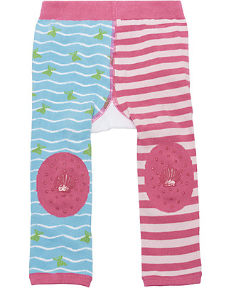 Zoocchini Set Leggings e Calzini Antiscivolo Grip+Easy - Marietta la Sirena Leggings