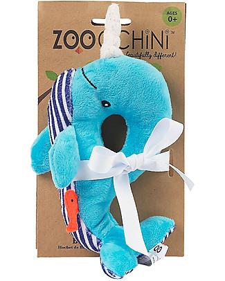 Zoocchini Sonaglio Baby, Balena - Ciniglia Sonagli
