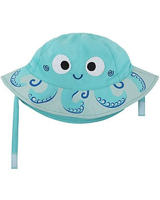 Zoocchini Sunhat UPF 50, Owie the Octapus - Funny and useful! Sunhats