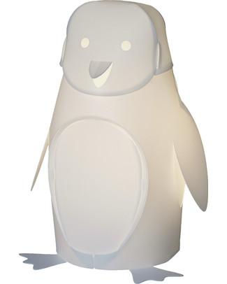 Zzzoolight Lampada da Notte Pinguino - Cambia Colore! Made in Italy Lampade Da Notte