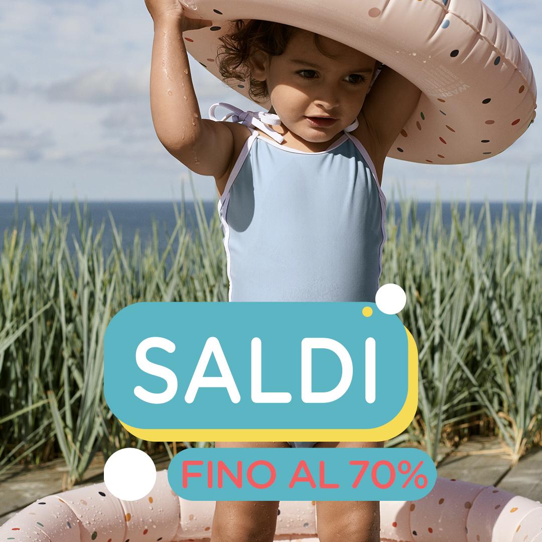 SALDI MODA BIMBI -70%