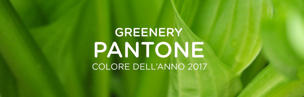 GREENERY: è verde il colore del 2017