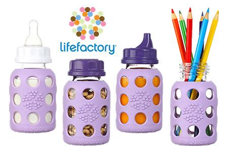 Vendita Lifefactory, l'alternativa ecologica al biberon in plastica online