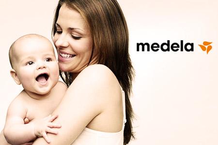 Vendita Medela, tiralatte e soluzioni per l'allattamento online