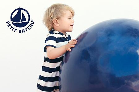 Vendita Petit Bateau: il benessere del bambino rispettando l'ambiente online