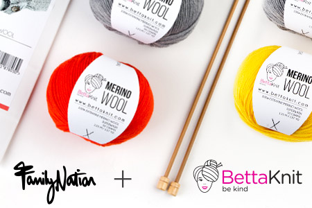 Vendita Family Nation + BettaKnit online